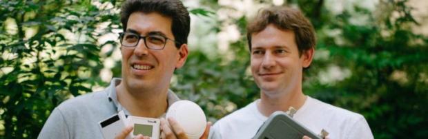 Olivier Hersent et Nicolas Jordan, co-fondateurs d'Actility.