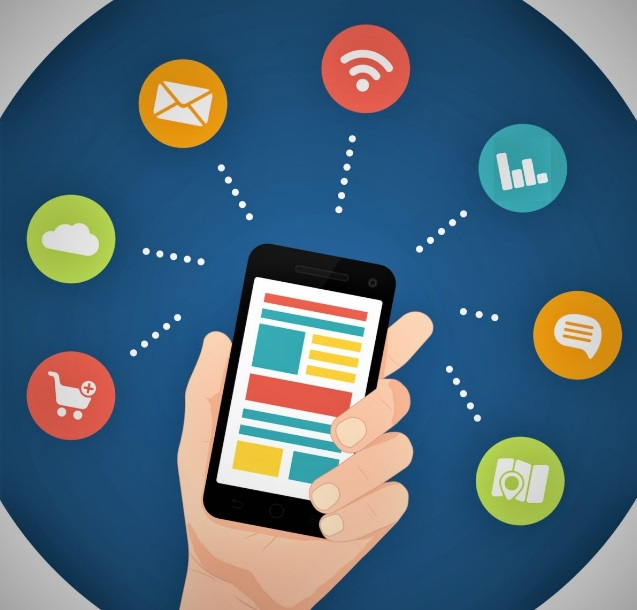 Smartphone et logos