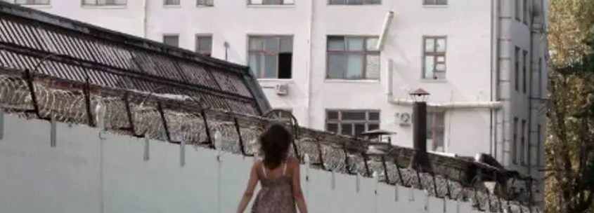 Une prison vue de dehors à Madagascar